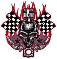 as49 Schwalbe Tattoo Kirsche Aufnäher Bügelbild Applikation Rock Roll Rockabilly