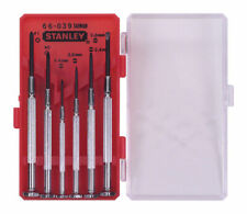 Stanley  6 pc. Phillips/Slotted  Jewelers  Precision Screwdriver Set  Steel