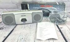 Bush SRC 920 Retro Mini Compact Silver Stereo Radio Cassette Player - With Box