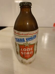 Lone Star Beer Bottle