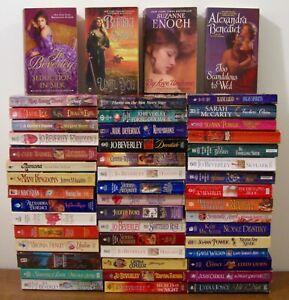 Lot of 50 HISTORICAL ROMANCE Novels: Jo Beverley, Victoria Alexander, A Benedict