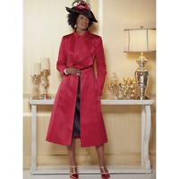 Blakely Jacket Dress Ashro Black Red Formal Dinner Church 6 8 10 16W 18W 26W