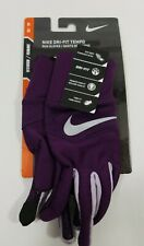 Nike Dri-Fit Tempo Running Gloves Touch Screen Size XS/P NRGE5520XS Women's New