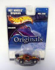 Hot Wheels Jaula del rodillo ORIGINALS Die-Cast Exclusivo MOC COMPLETO 2001