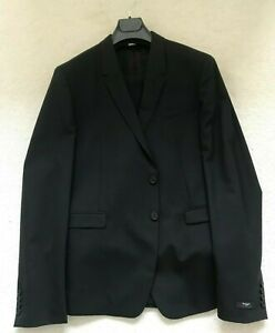 Paul Smith KENSINGTON Charcoal Black Single Breasted 100% WOOL SUIT