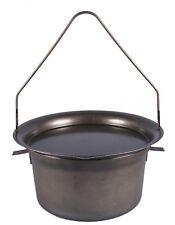 Camp Oven Hillbilly BushRanger 7.5 litre SPUN BLACK STEEL Australian Made i MELB
