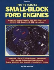 How to Re Build Small-Block Ford Engines 289 302 BOSS 351 WORKSHOP REPAIR MANUAL