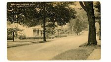 Pleasantville NY -BEAUTIFUL BEDFORD ROAD- Postcard