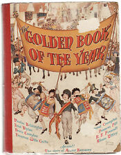 THE GOLDEN BOOK OF THE YEAR c1940 Enid Blyton Richmal Crompton  - PRESCOTT