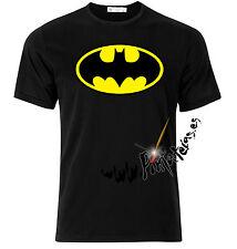 Camiseta BATMAN LOGO tshirt t-shirt  tallas mujer niño xxl batman BARATA negra