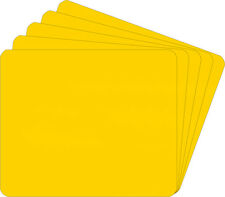 (800) CDNS68YE30 CD Yellow Compact Disc Divider Bin Cards Tall Heavy Duty 30 Mil