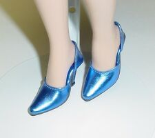 Doll Shoes, 48mm Metallic Navy Easy to Wear for Tyler