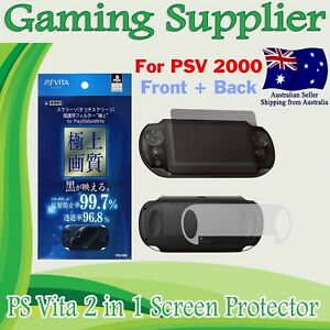 Full Body Front and Back Screen Protector for PS Vita PSV PCH-2000 PSVITA