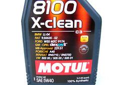 1 Litro Motul 8100 5w-40 X-CLEAN ACEITE DE MOTOR 5w40 SAE DIESEL GASOLINA