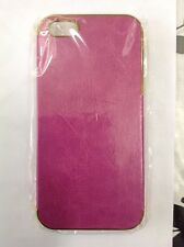 Pink and gold clip cases for IPhone 5