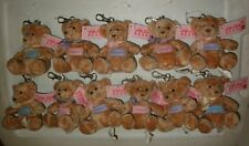 Russ® With Love Name Keychain Bear - 10 M - V Choices (Maria to Victoria) Mint