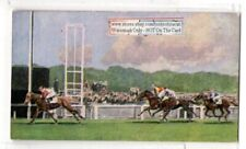 French Racecourse Longchamps And Auteuil Horse Racing 1930s Trade Card