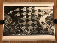 PEARL JAM - Emek POSTER  Safeco Field Seattle 2018 IN HAND home away shows
