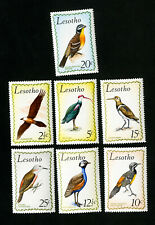 Lesotho Stamps # 105-11 XF Birds Set OG NH