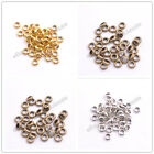 Tibetan Silver/Gold/Bronze Rings Spacer Beads Jewelry Findings 6x2MM 3142
