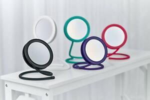 Joy Mangano Set 2 Handy Hook Mirror 5X w/ Storage Bags - Open Box - Read Details