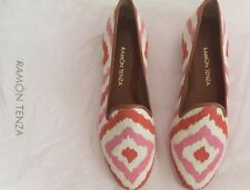 Ramon Tenza Shoes NWOB Size 7 Made In Spain Leather Soles Spring / Summer Colors