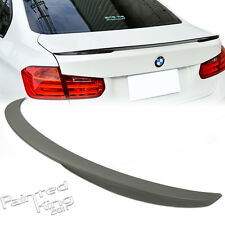 Unpainted For BMW 3-Series F30 4DR Performance Type Rear Trunk Spoiler Wing ABS