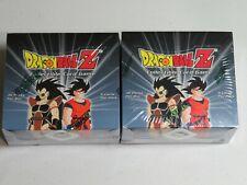2x Dragon Ball Z Saiyan Saga Limited Edition Booster Box - MINT Sealed 72 packs