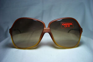 Carrera sunglasses butterfly oversized square oval women's NOS hyper vintage