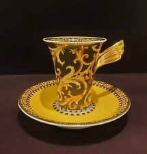 Rosenthal Versace Barocco Cup and Saucer NEVER USED, PERFECT CONDITION
