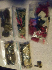 g.i. joe figures lot complete and loose  and 1980's weapon packs
