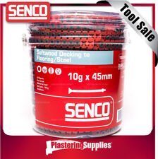 Senco Collated Decking Screws 10g x 45mm Floor To Steel Fixing 1000 PACK 1045MWT