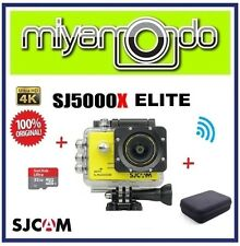 SJCAM SJ5000X Elite 4K WiFi Action Cam + Sandisk Ultra microSD 32GB + Bag (YL)