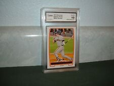 ANDREW SUSAC 2012 BOWMAN 1st BOWMAN ROOKIE GRADED GEM MINT 10 Brewers