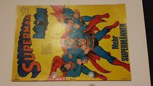 Supermann Nr.3 von 1973,Zst.3 Gelocht,Ehapa,Comic,Superhelden,Sammlung,Vintage