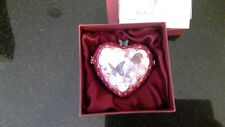 Lena Liu's Enchanted Wings Musical Heart Box May With Certificate of Auth.