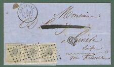 Storia postale estero. BELGIO. BELGIUM. Letter of 1867 for Geneve (Switz erland)