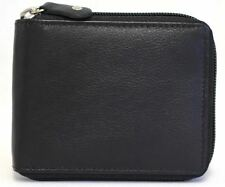 Zip Around  Florentino Cow Hide RFID Protection Leather Wallet 11011