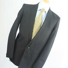 SMC Mens Black Suit Jacket 40 Chest (Regular)