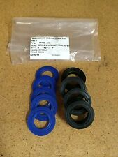 Fleck 5600 Seal Spacer Kit - New Blue Silicone Seals