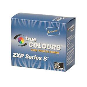 Zebra Ink Ribbon True Colours ZXP8 ZXP9 Card Printer Ribbon Ymckk 800012-480