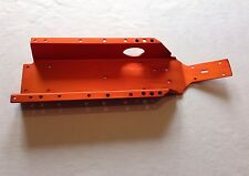 HPI BAJA MAIN CHASSIS METAL ORANGE ANODISED FOR HPI BAJA 5B,5T,5SC,1/5,KM,ROVAN