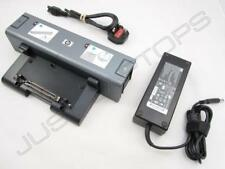 HP Compaq nx9420 6510b nc6125 Basic Docking Station Port Replicator + 120W PSU