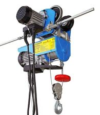 Elektrische Seilwinde + elektrischer Laufkatze Tragkraft 300kg Motorwinde 02467
