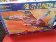 NEW-Not Opened-Model Kit-ZHENGDEFU 1/48 scale SU-27 FLANKER B Russian Warplane