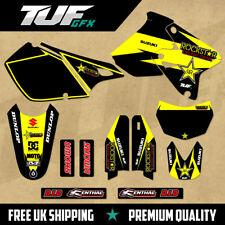 SUZUKI DRZ 400 1999-2018 Full Graphic Kit MX Motocross Enduro Decals Rockstar