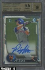 2016 Bowman Chrome Pete Alonso Mets RC Rookie AUTO BGS 9.5 w/ 10