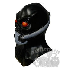 NEW 100/% Handmade Latex Rubber Hood Mask Removable goggles masks L25