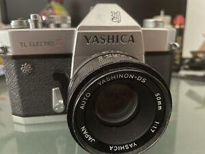 Yashica TL Electro X Its 35mm SLR Película Cámara Con Auto Yashinon DS 50mm 1.7
