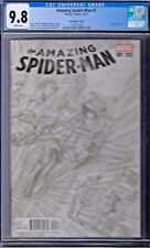 Amazing Spider-man Vol # 4 Issue # 1 CGC 9.8 Marvel Ross Sketch 1:100 Cover